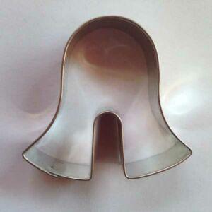 Bögrés süti kiszúró harang masszív fém forma 4,8 x 5 cm