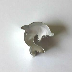 Delfin sütemény kiszúró, mézeskalács figura 4 cm