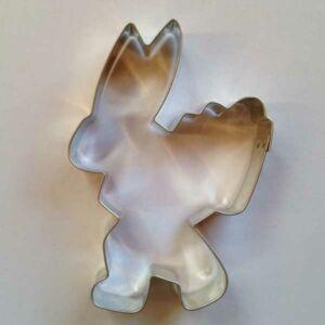 Húsvéti sütikiszúró nyuszi puttonnyal 10,5 cm
