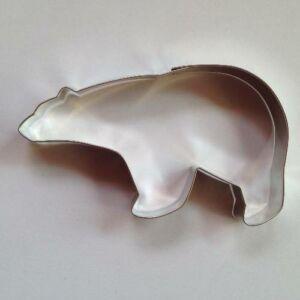 Nagy jegesmedve sütemény kiszúró forma 7 x 12 cm