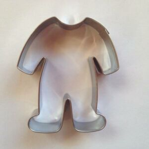 Rugdalózó sütikiszúró mézeskalács forma babáknak 6,1 x 5,3 cm
